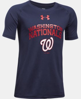 Boys' Washington Nationals UA Tech™ T-Shirt  1 Color $24.99