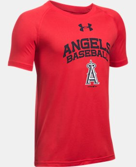 Boys' Los Angeles Angels UA Tech™ T-Shirt  1  Color Available $18.74