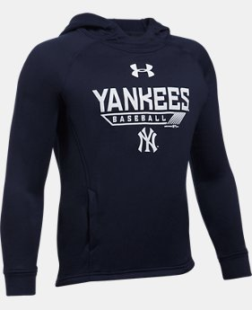 Boys' New York Yankees UA Tech™ Hoodie  1 Color $49.99