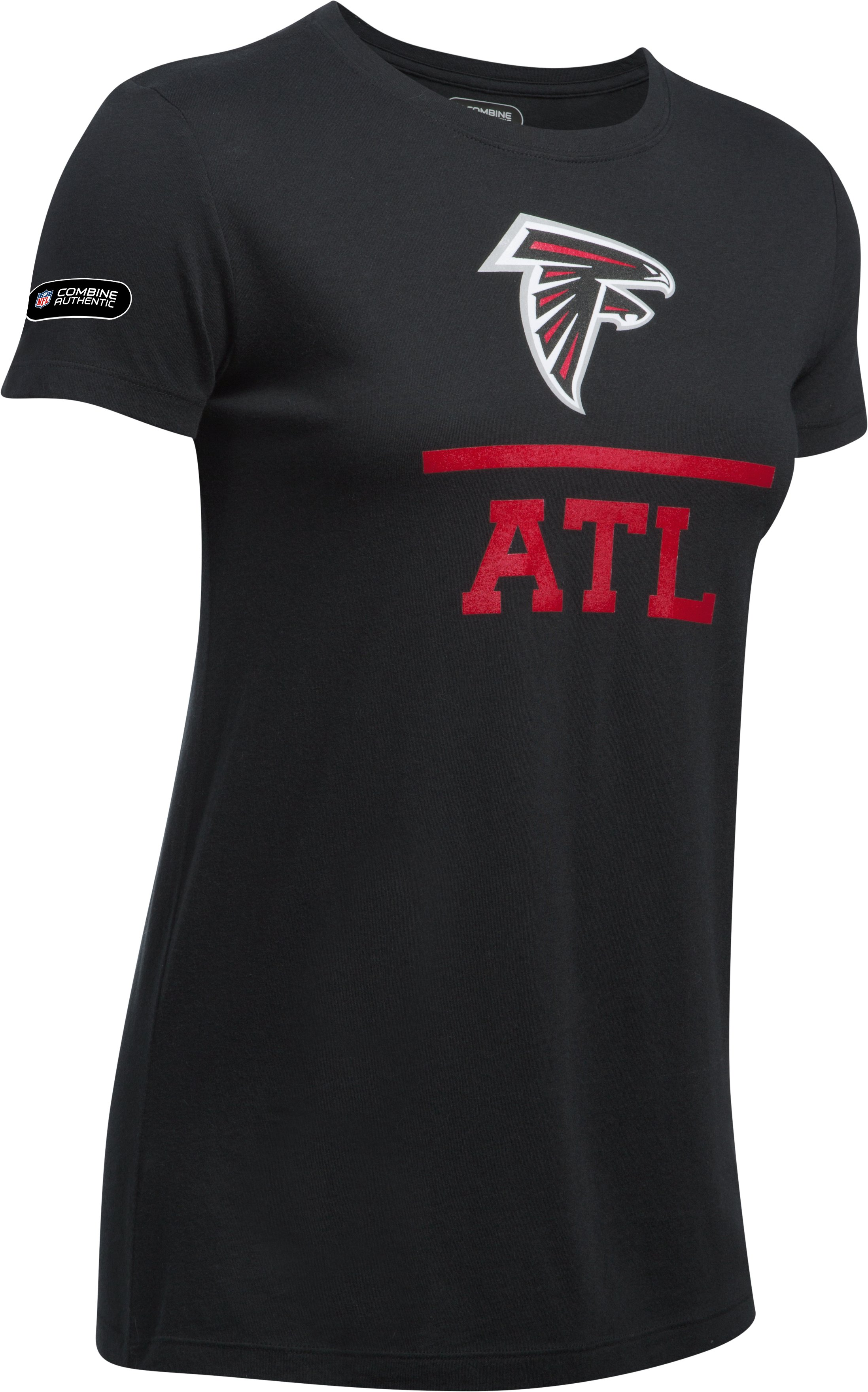 Women's NFL Combine Authentic Lockup T-Shirt, Atlanta Falcons, undefined