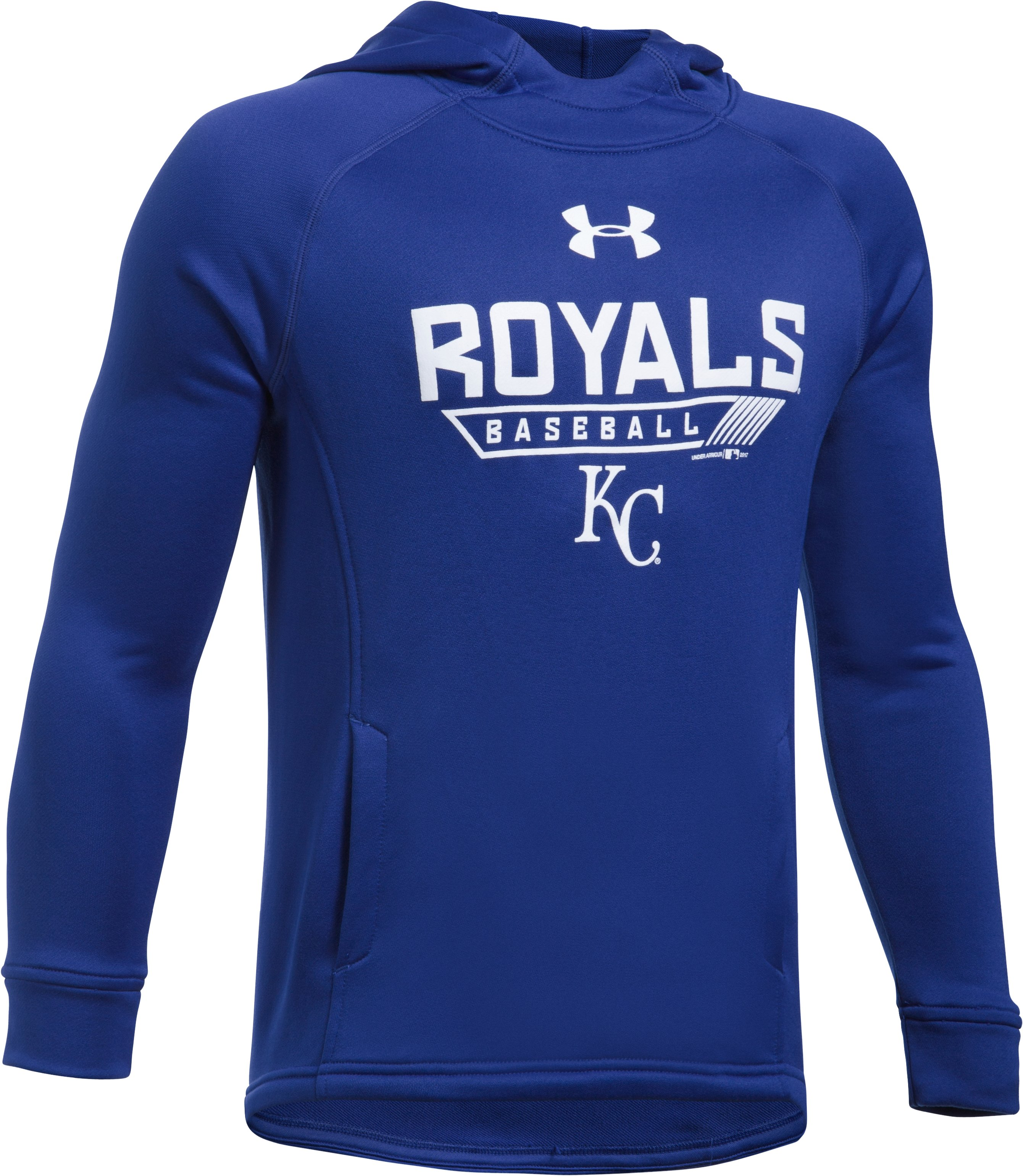 Boys' Kansas City Royals UA Tech™ Hoodie, Royal