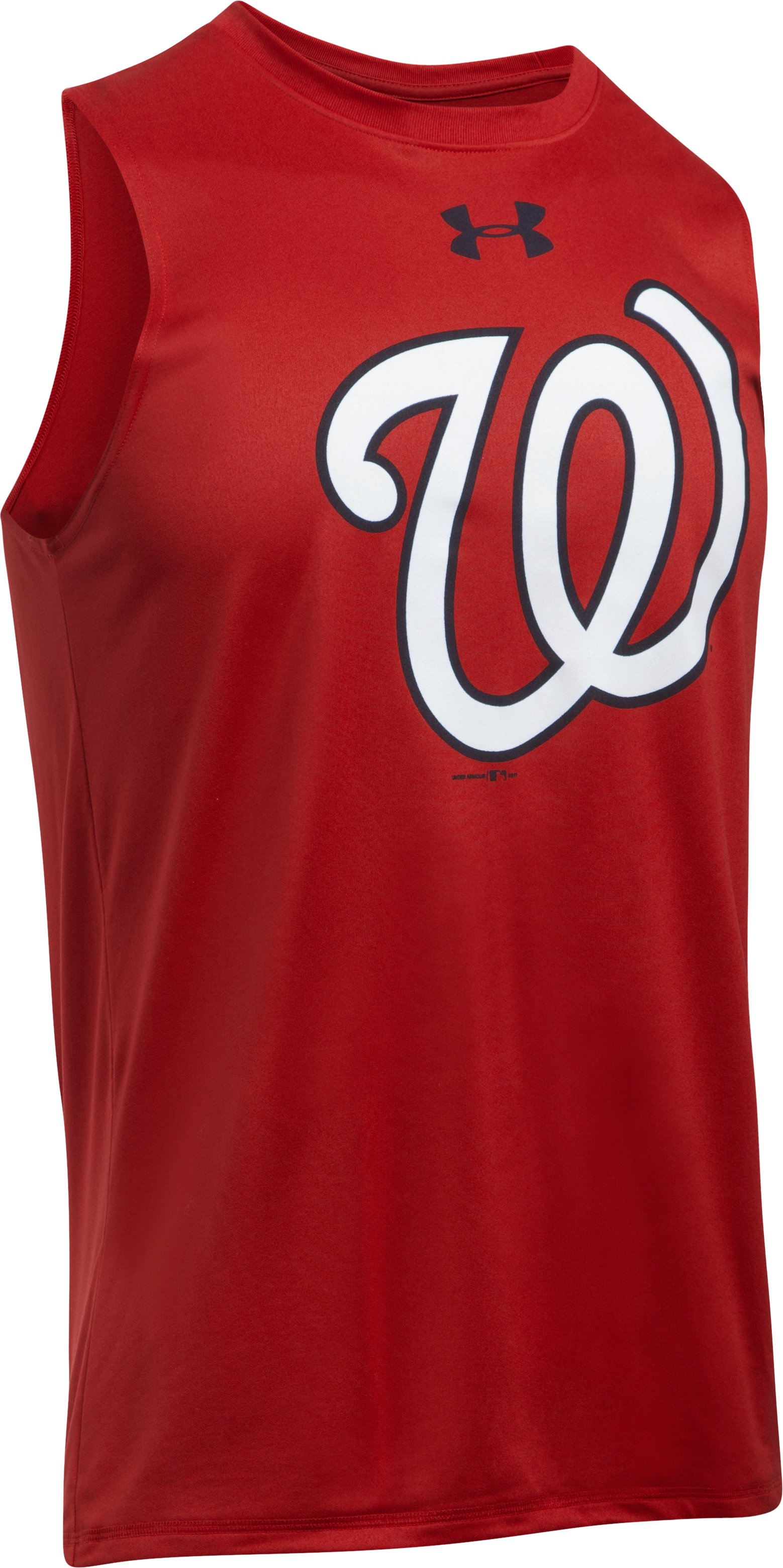Men's Washington Nationals UA Tech™ Tank, Red,