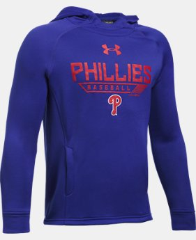 Boys' Philadelphia Phillies UA Tech™ Hoodie  1 Color $49.99