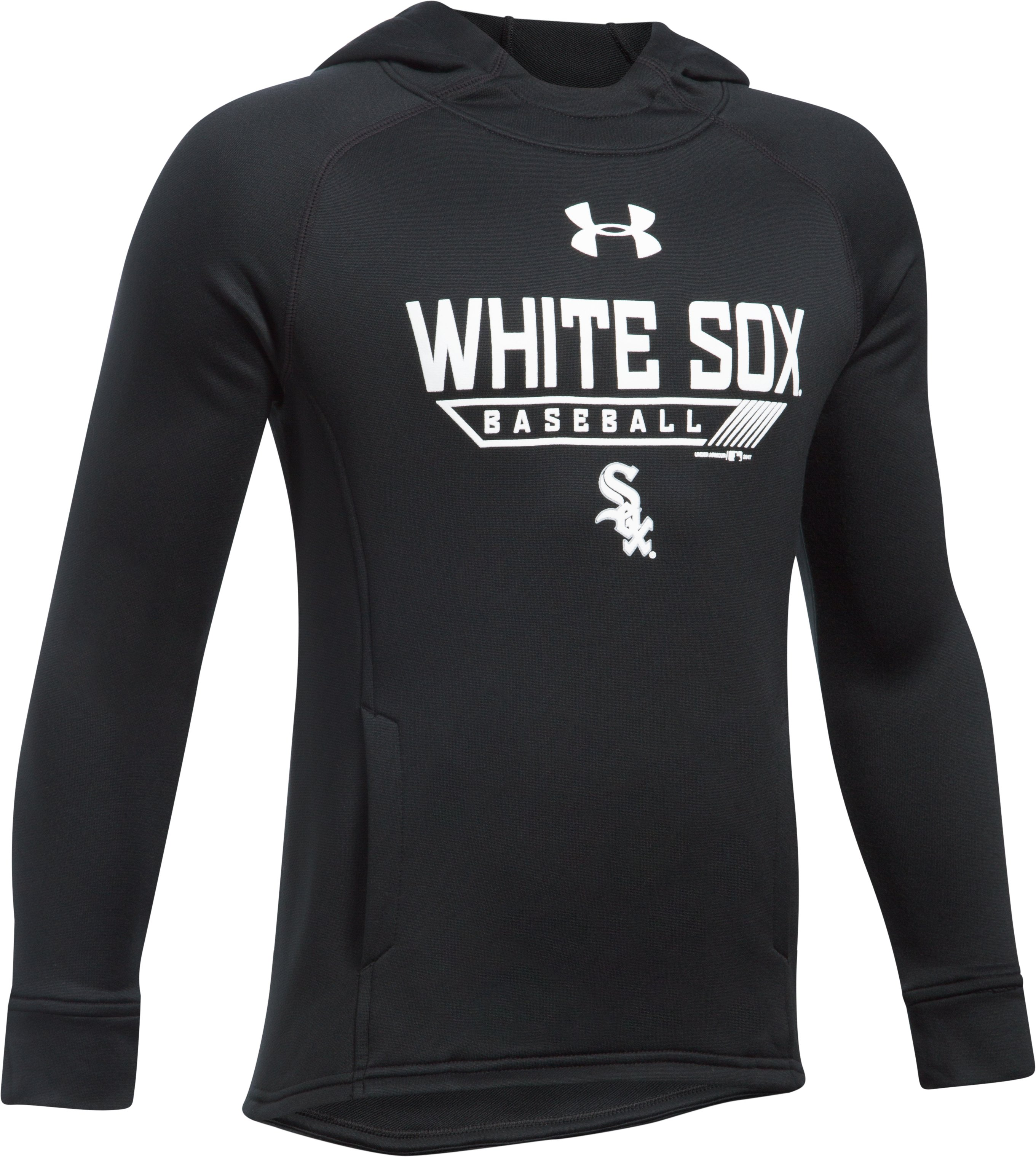 Boys' Chicago White Sox UA Tech™ Hoodie, Black , undefined