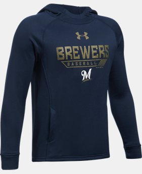 Boys' Milwaukee Brewers UA Tech™ Hoodie  1 Color $49.99