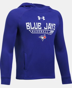 Boys' Toronto Blue Jays UA Tech™ Hoodie  1 Color $59.99