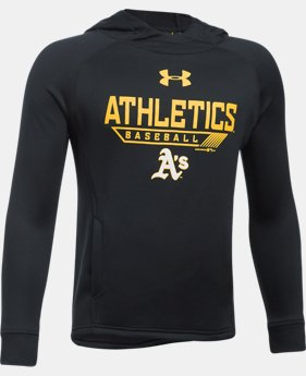 Boys' Oakland Athletics UA Tech™ Hoodie  1 Color $29.99