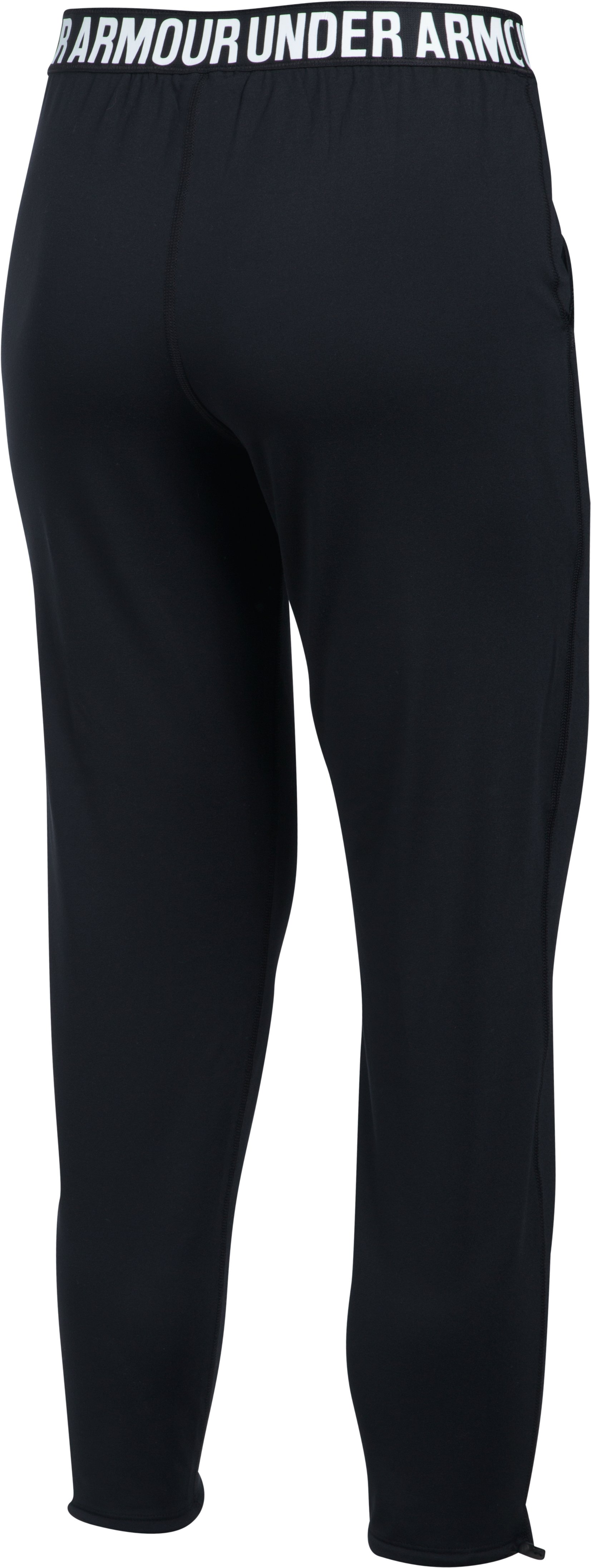 Women's UA Uptown Knit Jogger, Black , undefined