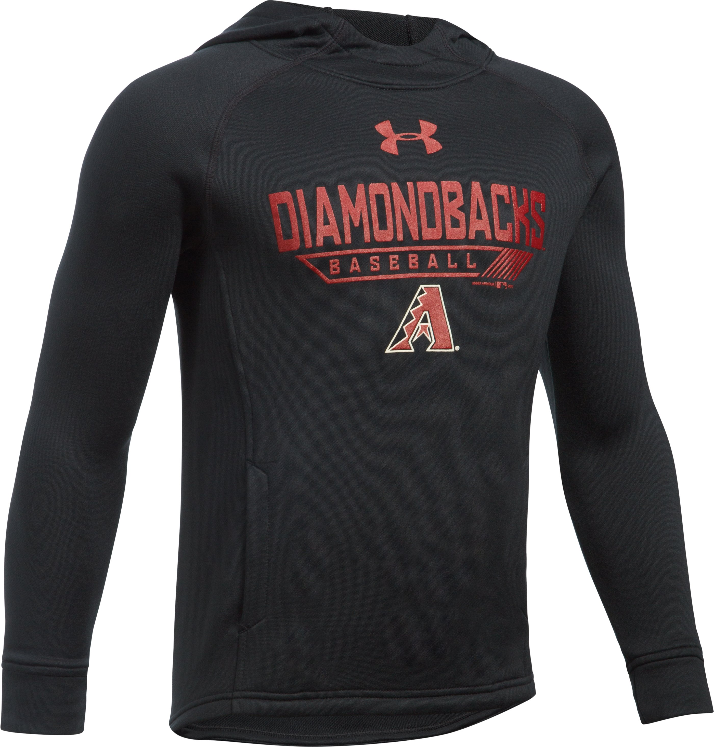 Boys' Arizona Diamondbacks UA Tech™ Hoodie, Black ,