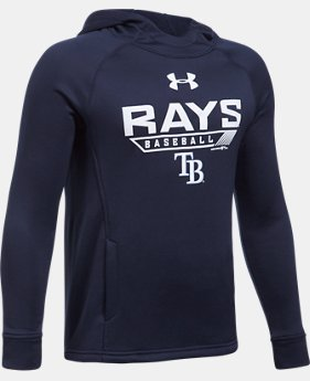 Boys' Tampa Bay Rays UA Tech™ Hoodie  1 Color $37.99