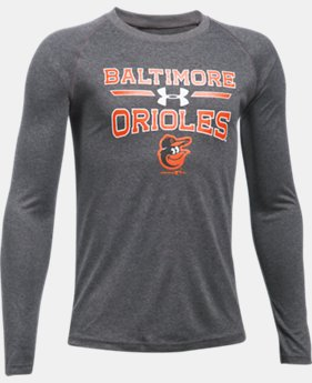 Boys' Baltimore Orioles UA Tech™ Long Sleeve T-Shirt  1 Color $22.99