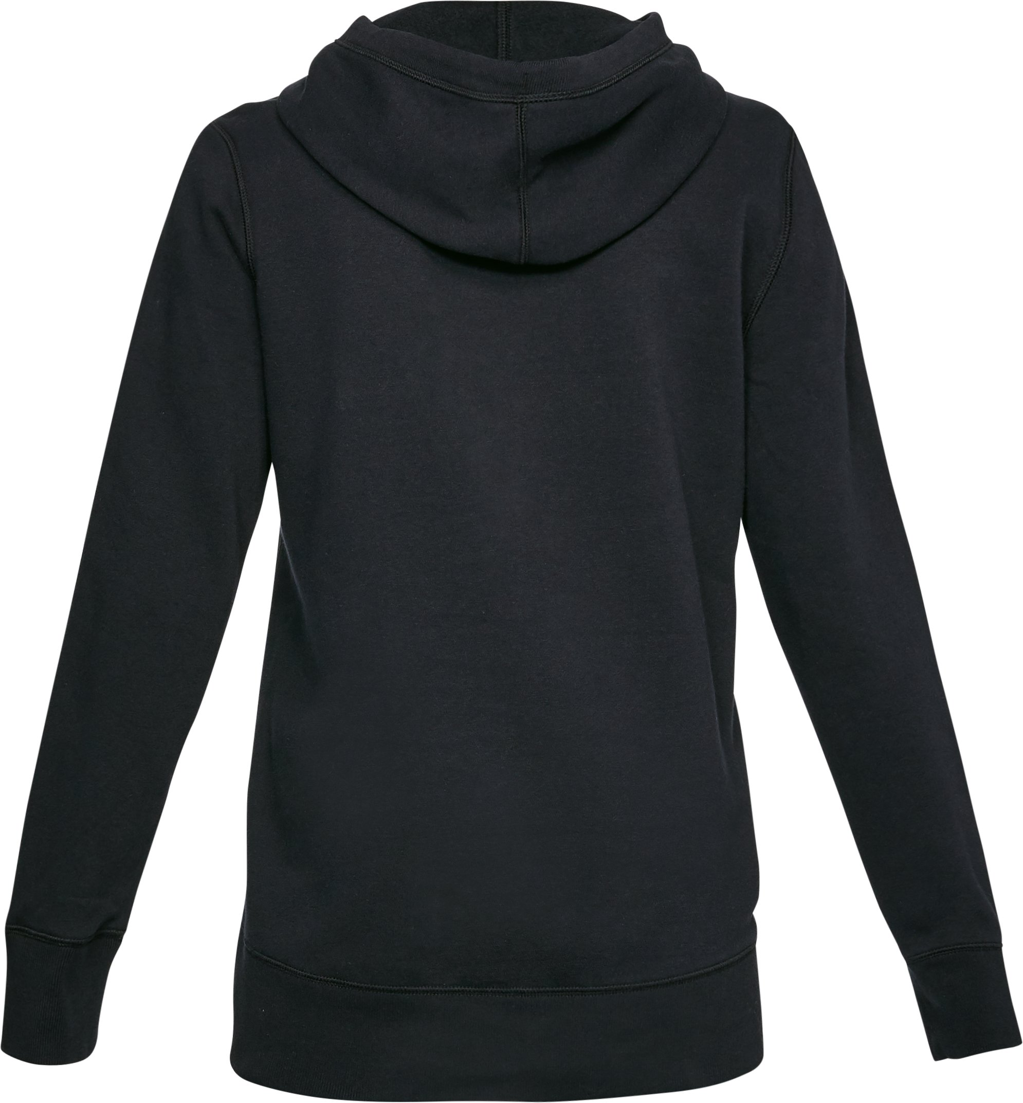 Women's UA Favorite Fleece Wordmark Hoodie, Black ,