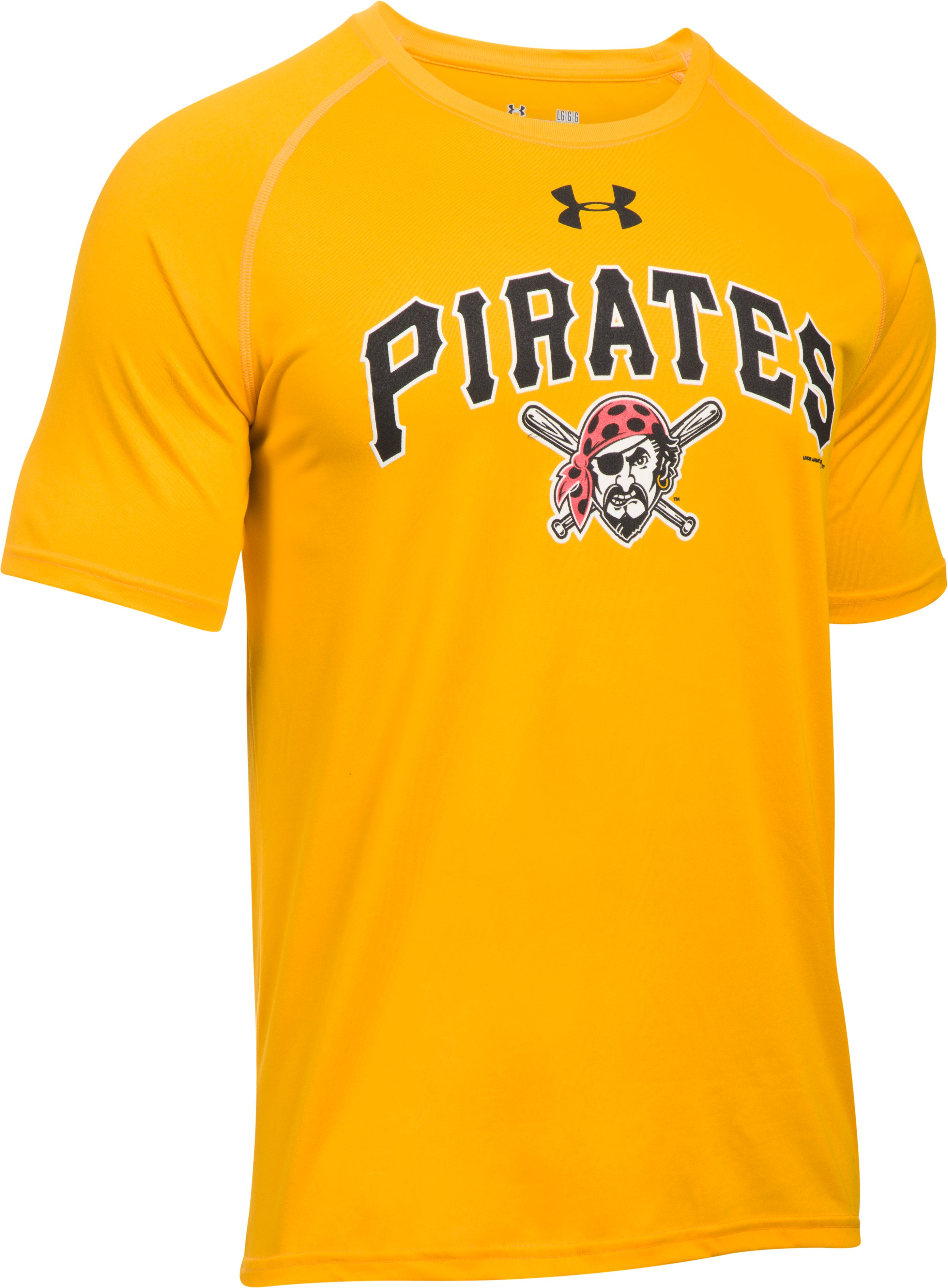 Men's Pittsburgh Pirates UA Tech™ T-Shirt, Steeltown Gold, undefined