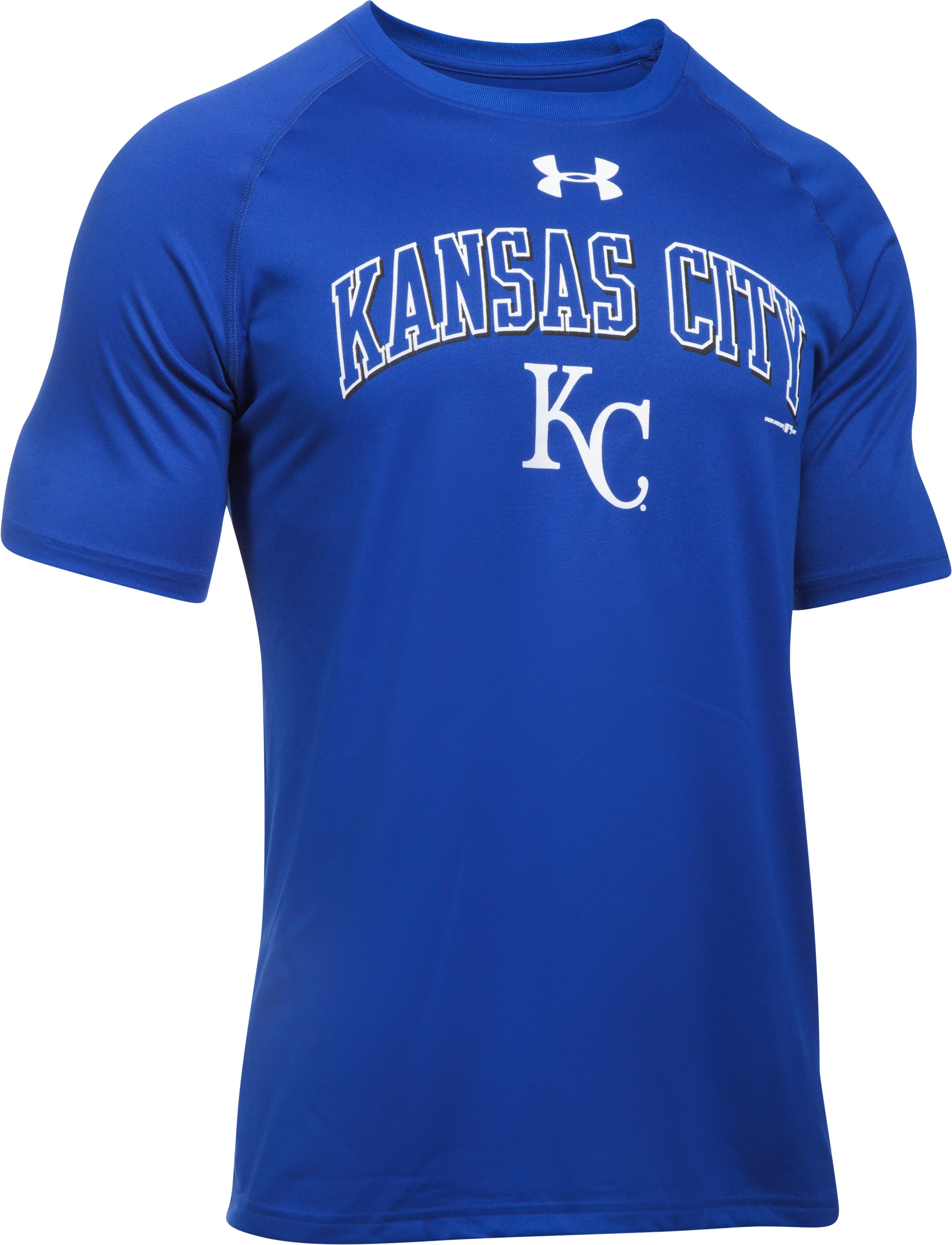 Men's Kansas City Royals UA Tech™ T-Shirt, Royal,