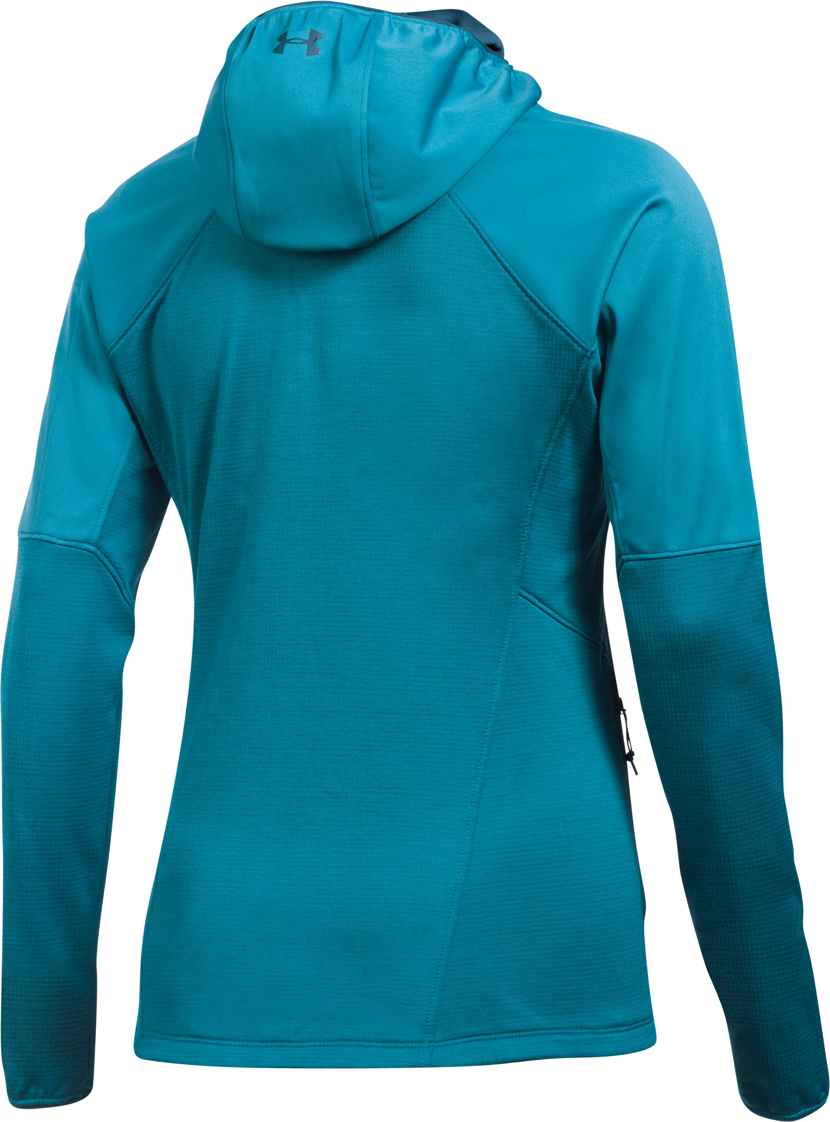 Women's ColdGear® Reactor Fleece Jacket, BAYOU BLUE,
