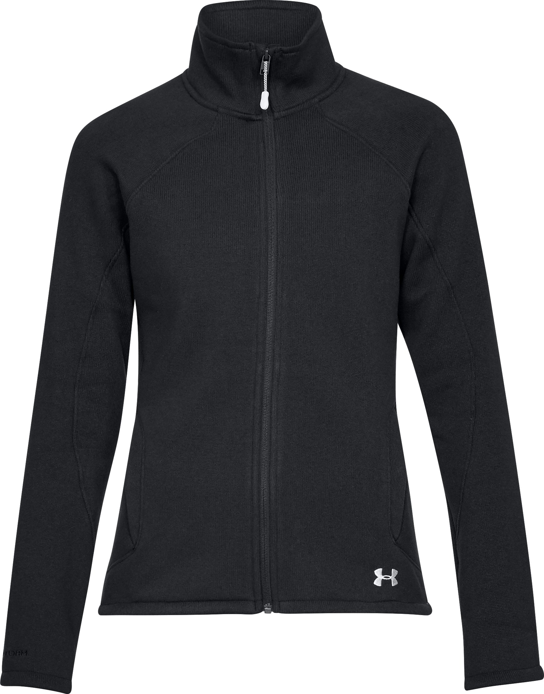 Women's UA Wintersweet Jacket, Black ,