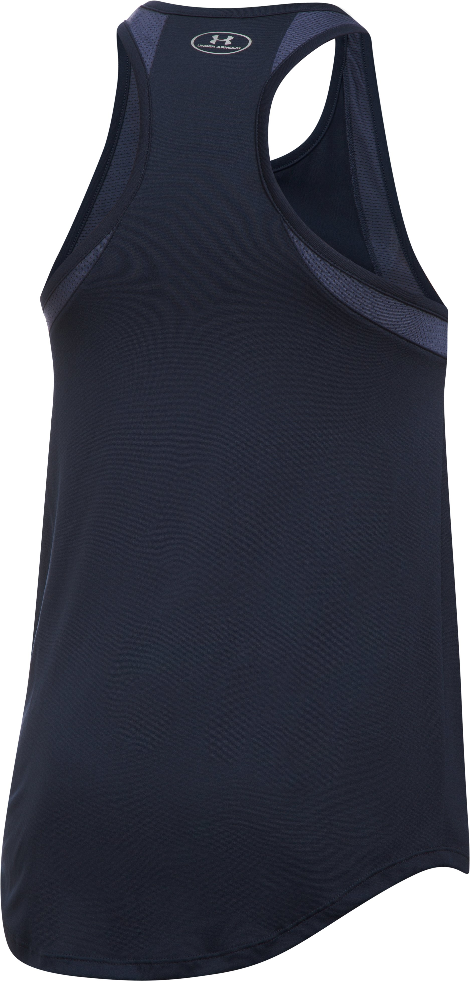 Women's Atlanta Braves UA Tech™ Mesh Tank, Midnight Navy,