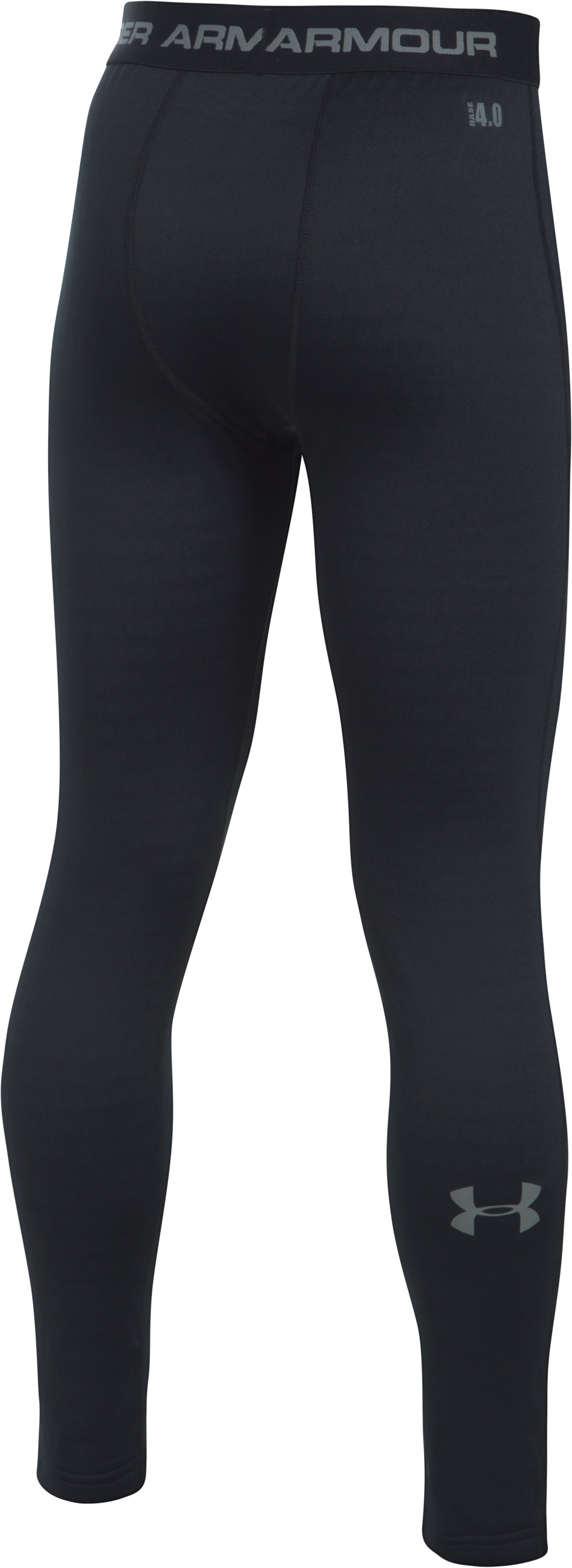 Boys' UA Base™ 4.0 Leggings, Black ,