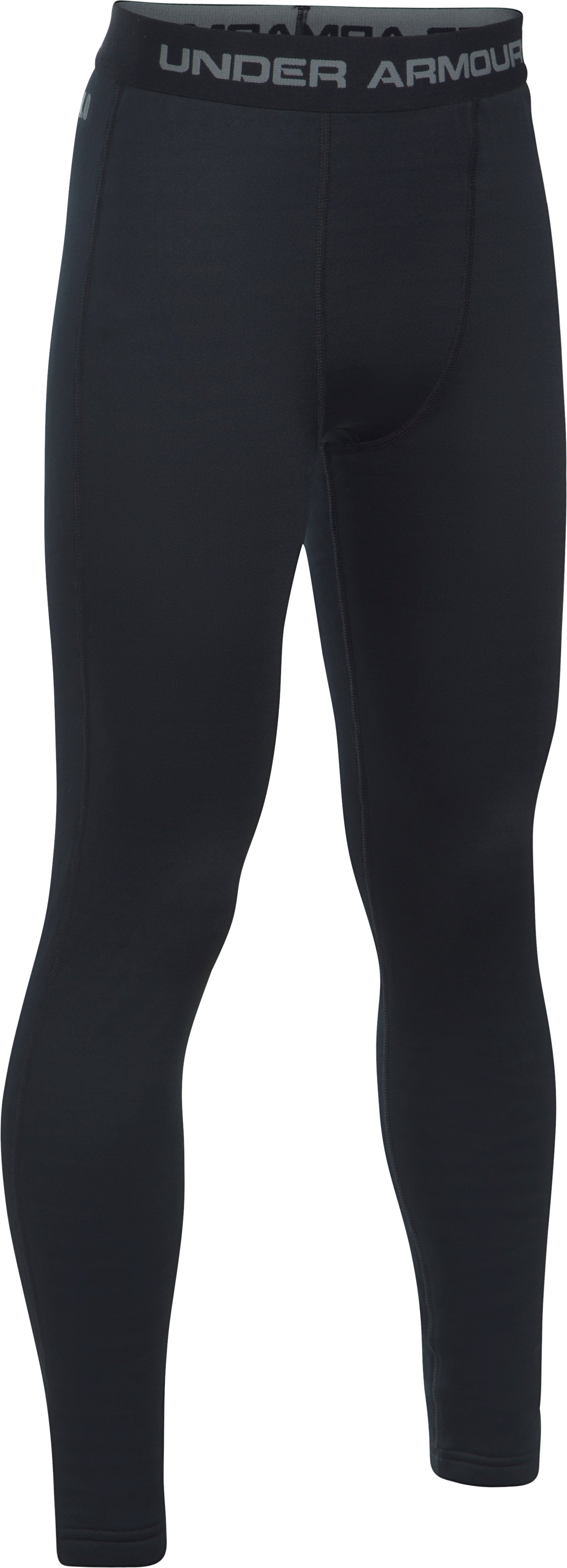 Boys' UA Base™ 4.0 Leggings, Black