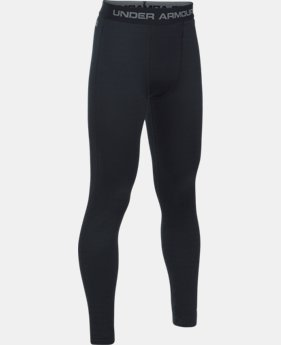 New Arrival  Boys' UA Base™ 4.0 Leggings  1 Color $74.99