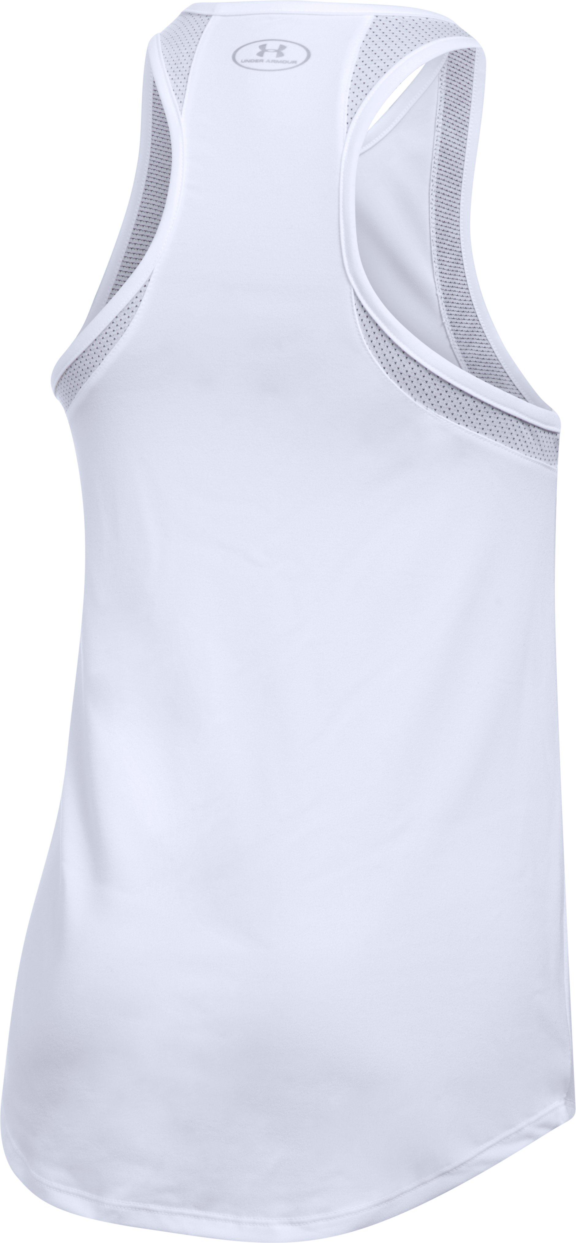 Women's Los Angeles Dodgers UA Tech™ Mesh Tank, White, undefined