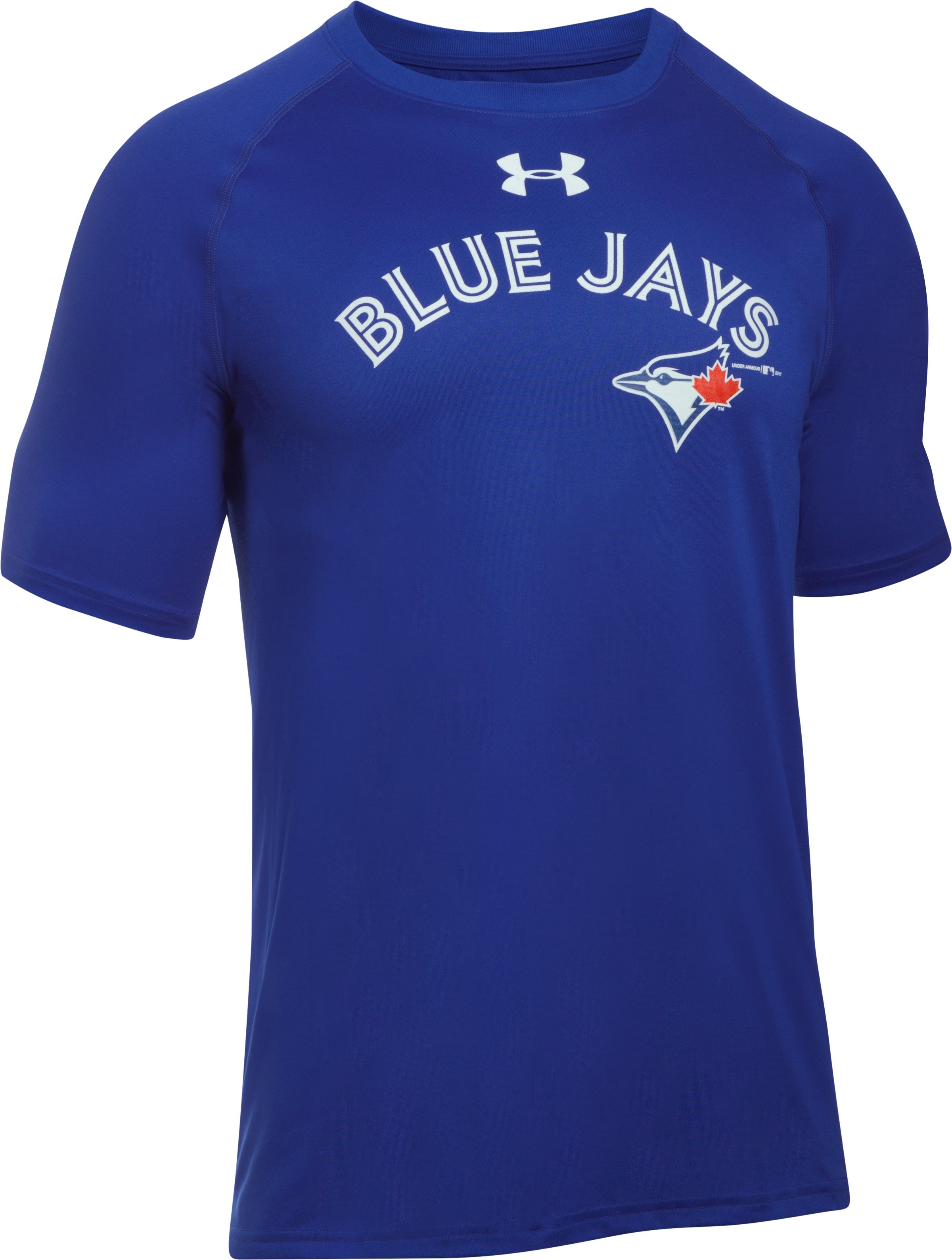Men's Toronto Blue Jays UA Tech™ T-Shirt, Royal, undefined