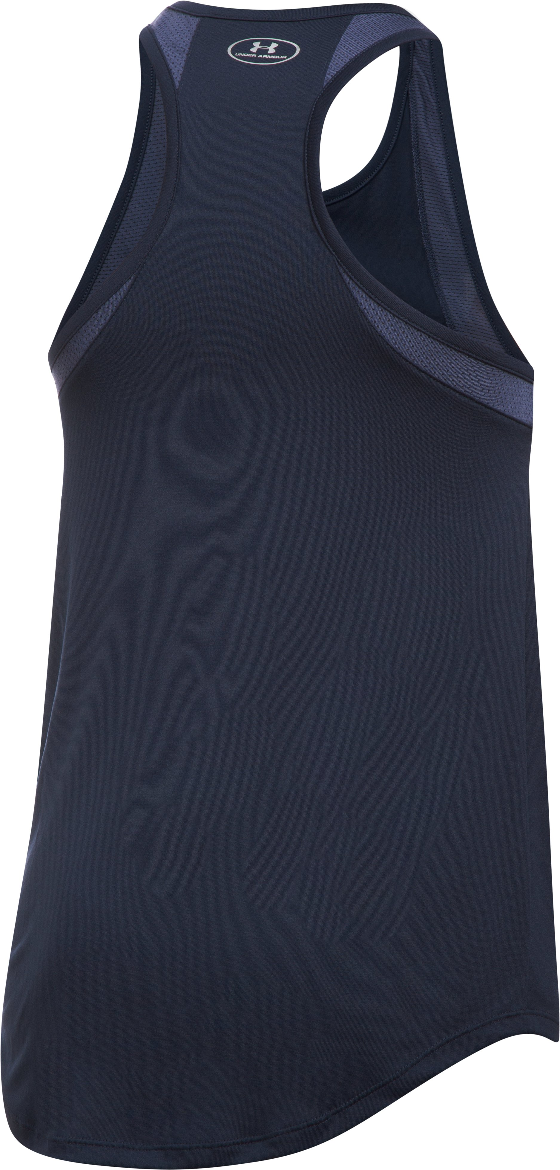 Women's Los Angeles Angels UA Tech™ Mesh Tank, Midnight Navy, undefined