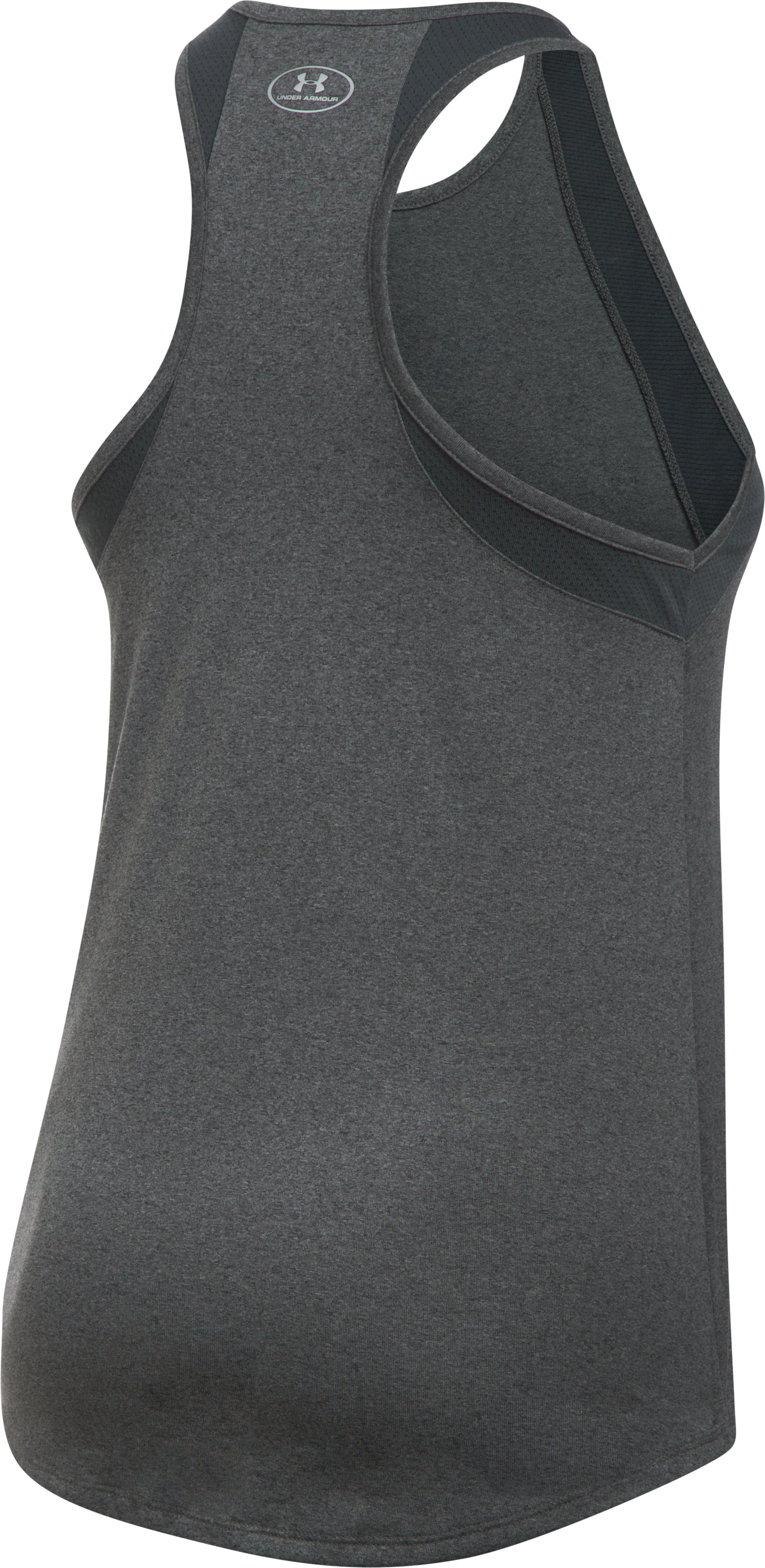 Women's Tampa Bay Rays UA Tech™ Mesh Tank, Carbon Heather, undefined