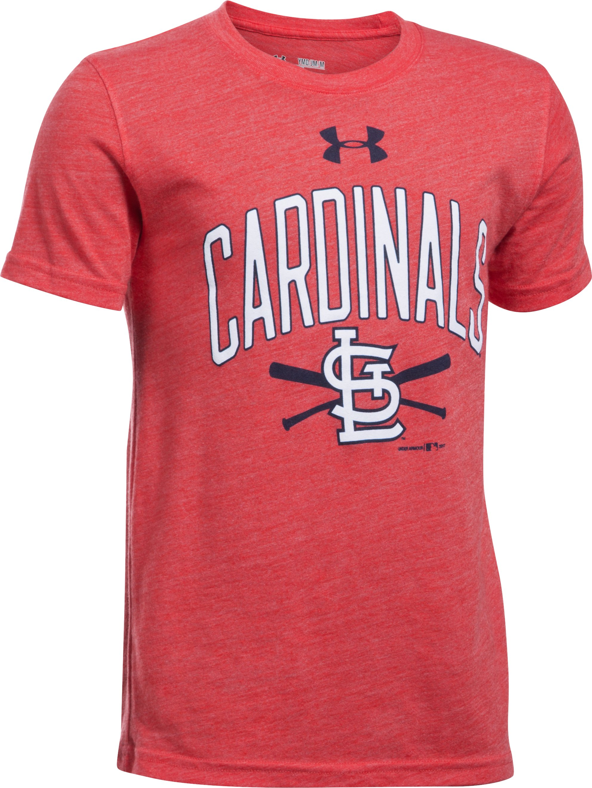 Boys' St. Louis Cardinals Tri-Blend T-Shirt, Red,