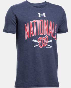 Boys' Washington Nationals Tri-Blend T-Shirt  1  Color $24.99