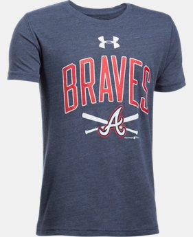 Boys' Atlanta Braves Tri-Blend T-Shirt  1 Color $24.99