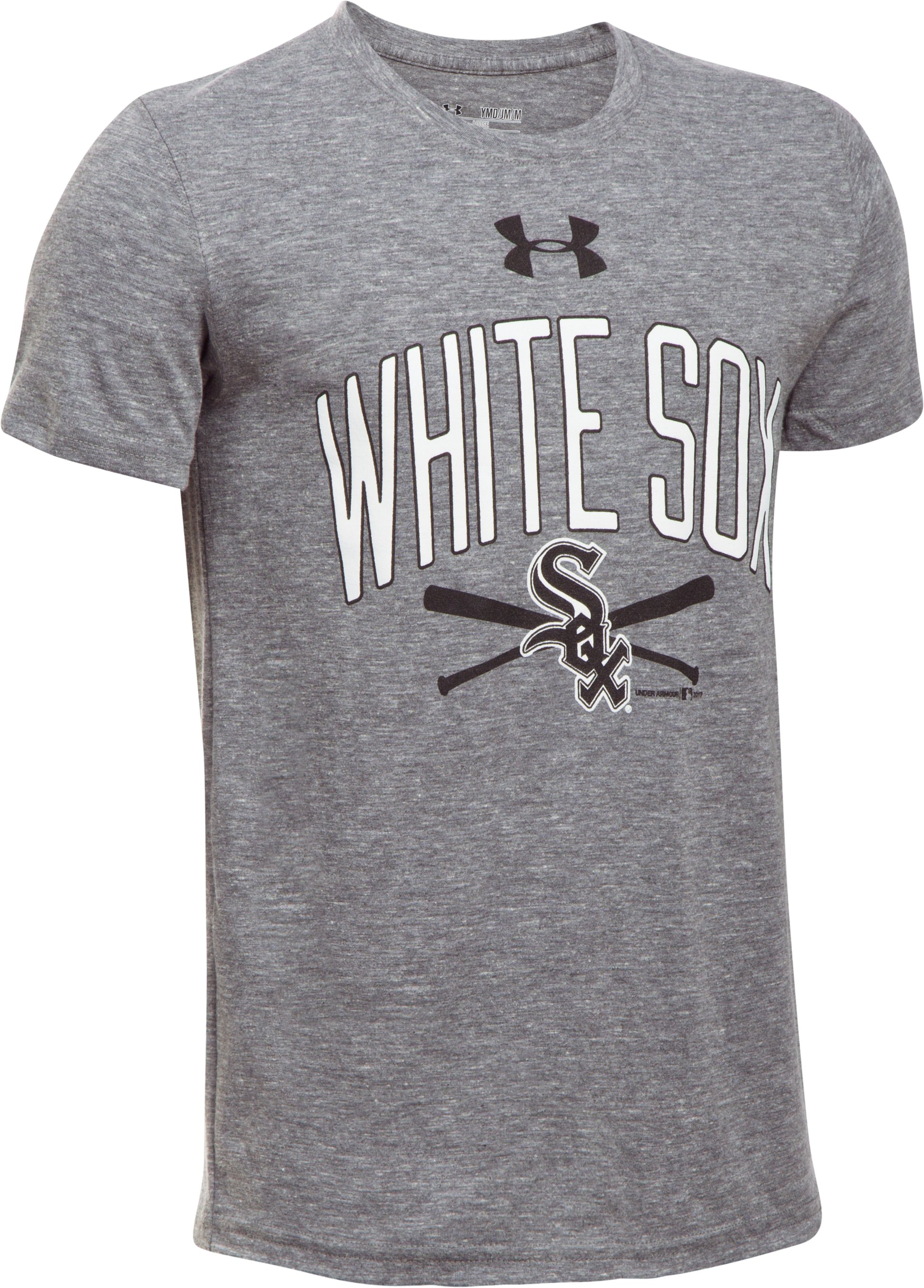 Boys' Chicago White Sox Tri-Blend T-Shirt, True Gray Heather,