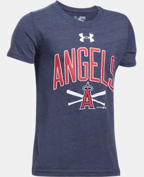 Boys' Los Angeles Angels Tri-Blend T-Shirt  1 Color $24.99