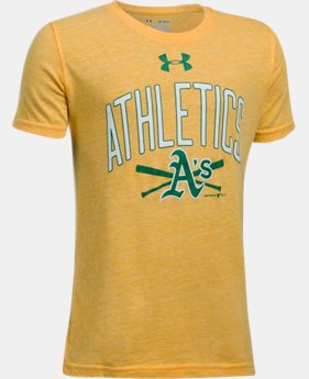 Boys' Oakland Athletics Tri-Blend T-Shirt  1 Color $24.99