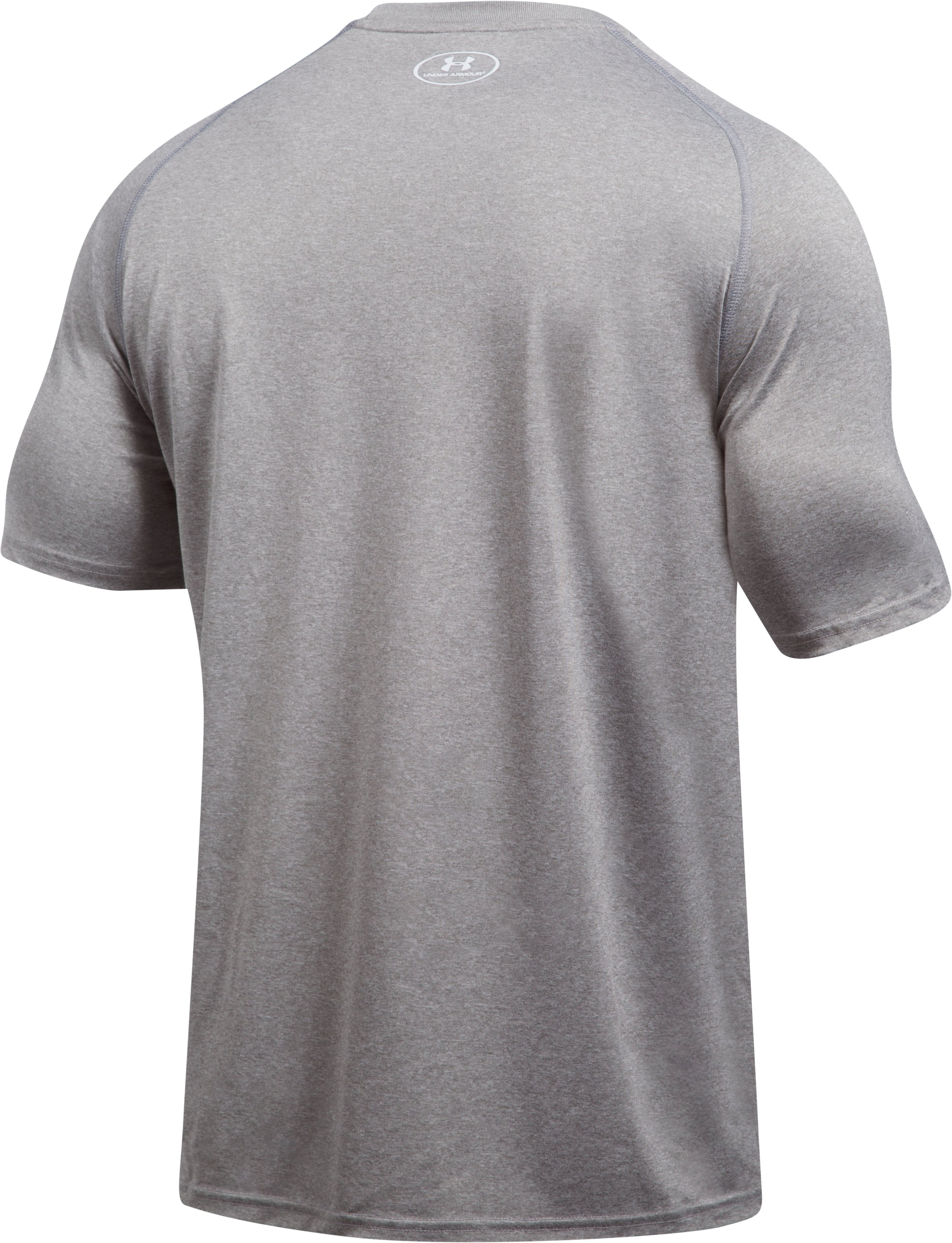 Men's San Francisco Giants UA Tech™ T-Shirt, True Gray Heather, undefined