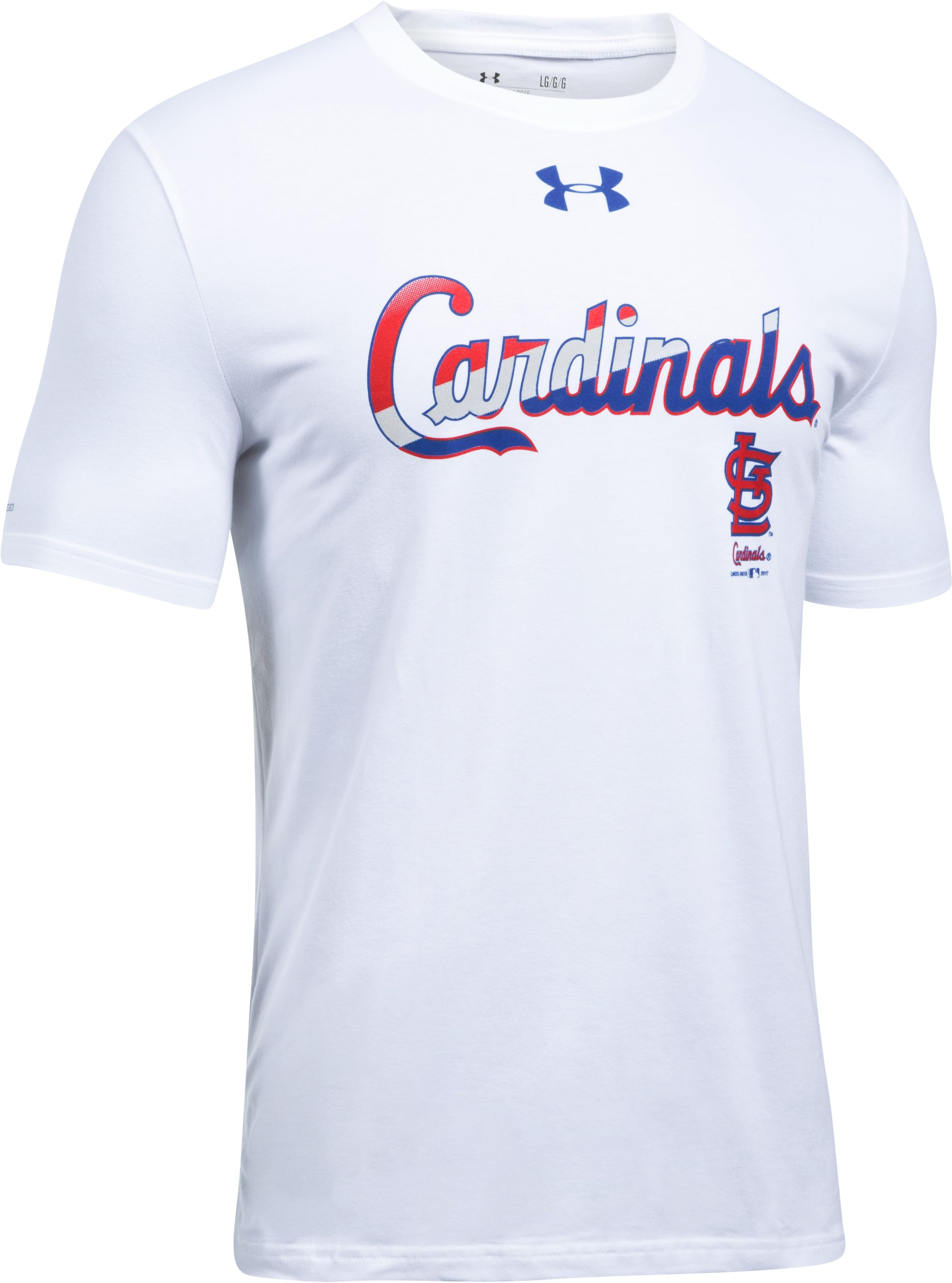 Men's St. Louis Cardinals T-Shirt, White,