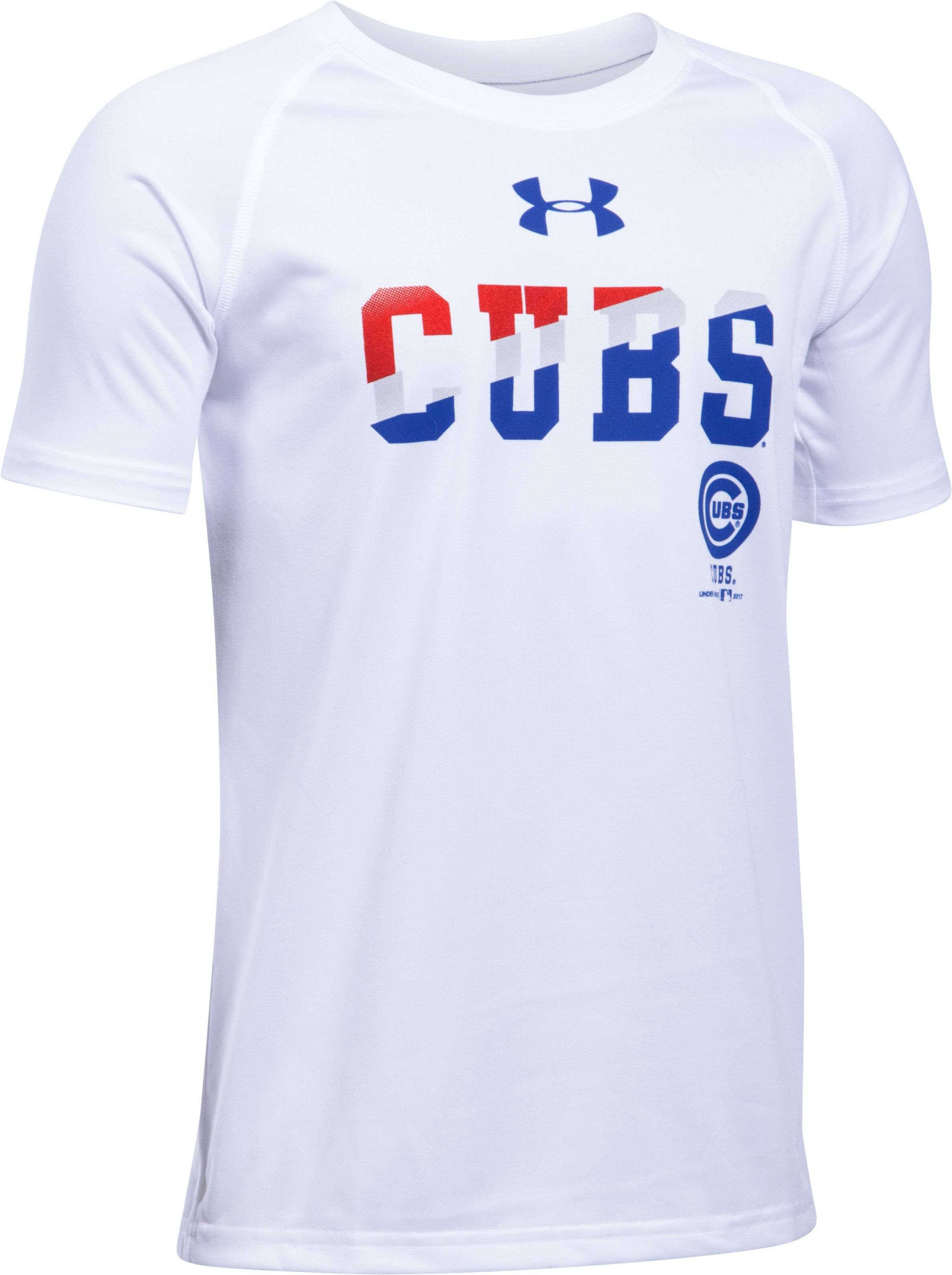 Boys' Chicago Cubs 4th Of July T-Shirt, White, undefined