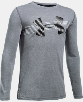 Boys' UA Threadborne™ Long Sleeve  1 Color $34.99