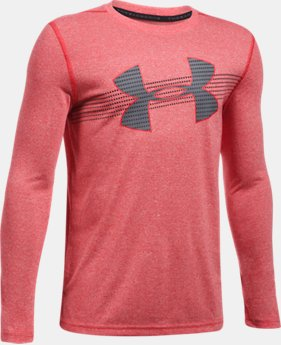 New Arrival  Boys' UA Threadborne™ Long Sleeve  2 Colors $34.99