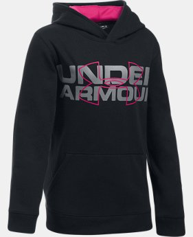 Boys' UA Threadborne™ Logo Hoodie  2  Colors Available $33.99