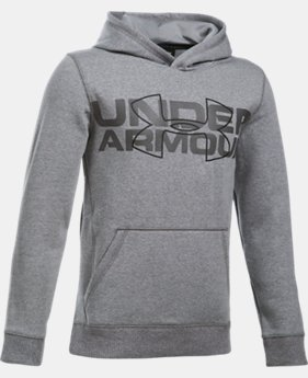 Boys' UA Threadborne™ Logo Hoodie LIMITED TIME OFFER 2 Colors $41.99