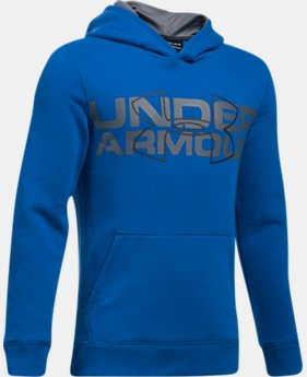 New Arrival Boys' UA Threadborne™ Logo Hoodie  2 Colors $44.99