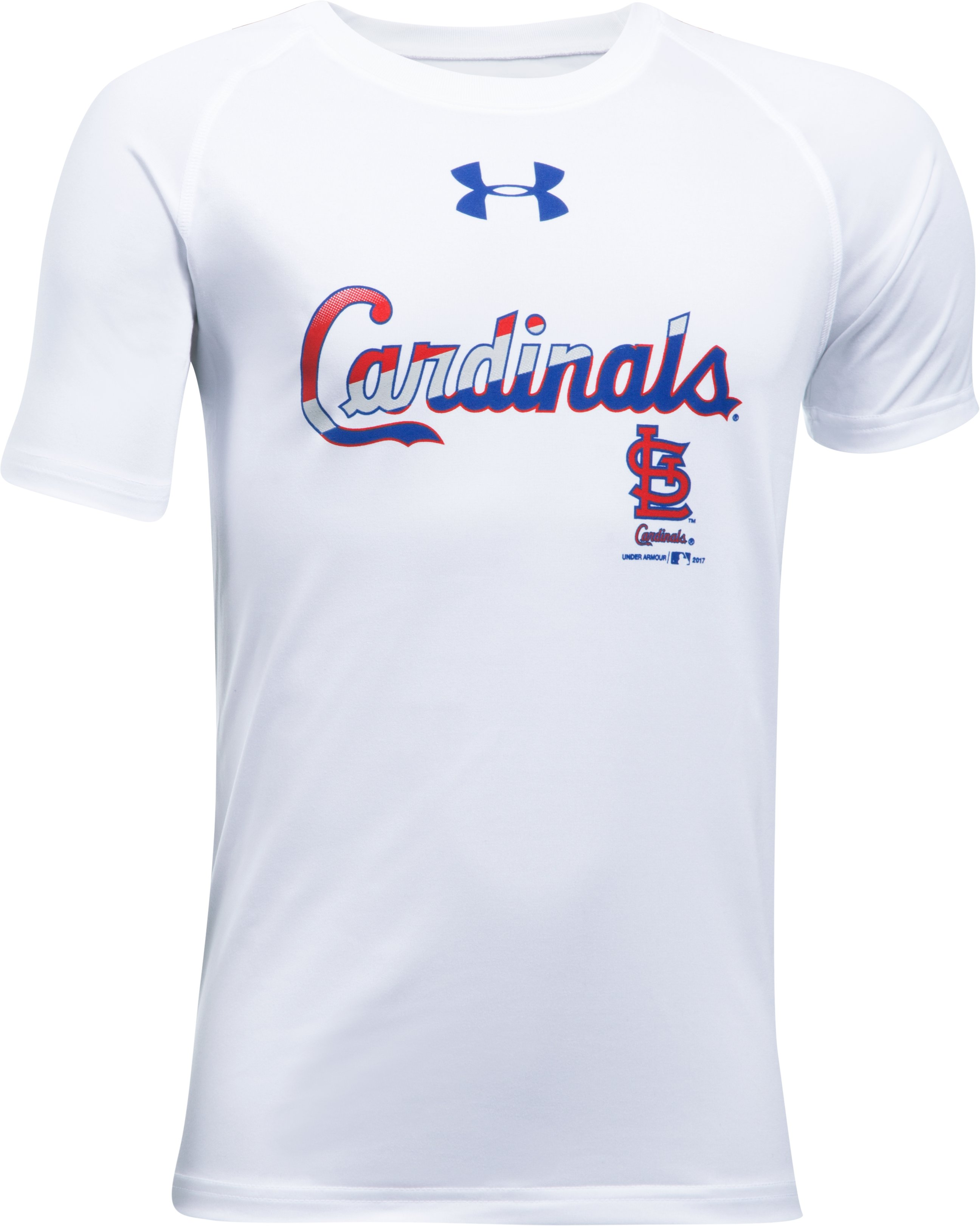 Boys' St. Louis Cardinals T-Shirt, White, undefined