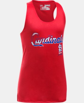 Girls' St. Louis Cardinals UA Tech™ Tank LIMITED TIME: FREE U.S. SHIPPING 1  Color Available $24.99