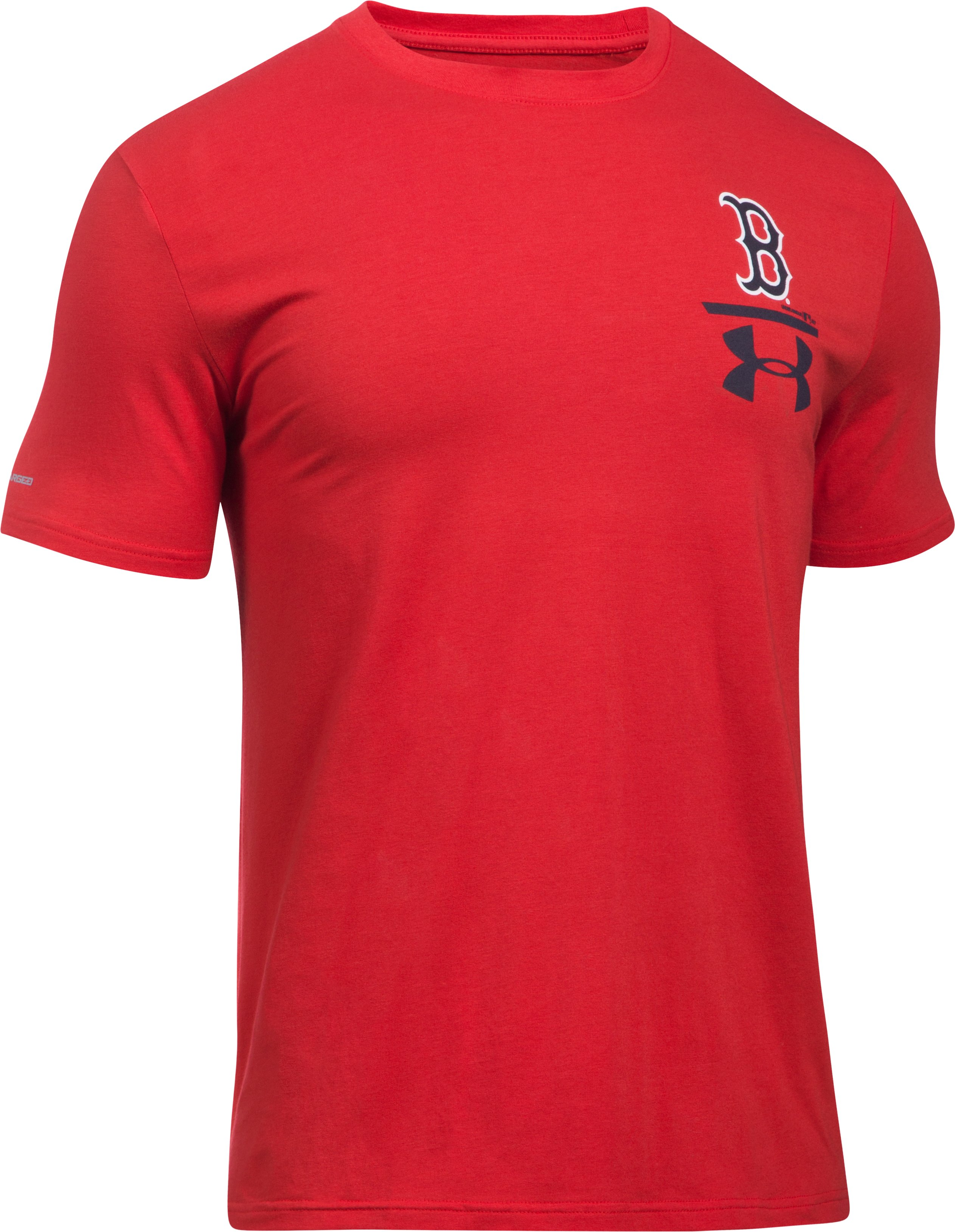 Men's Boston Red Sox Logo T-Shirt, Red, undefined