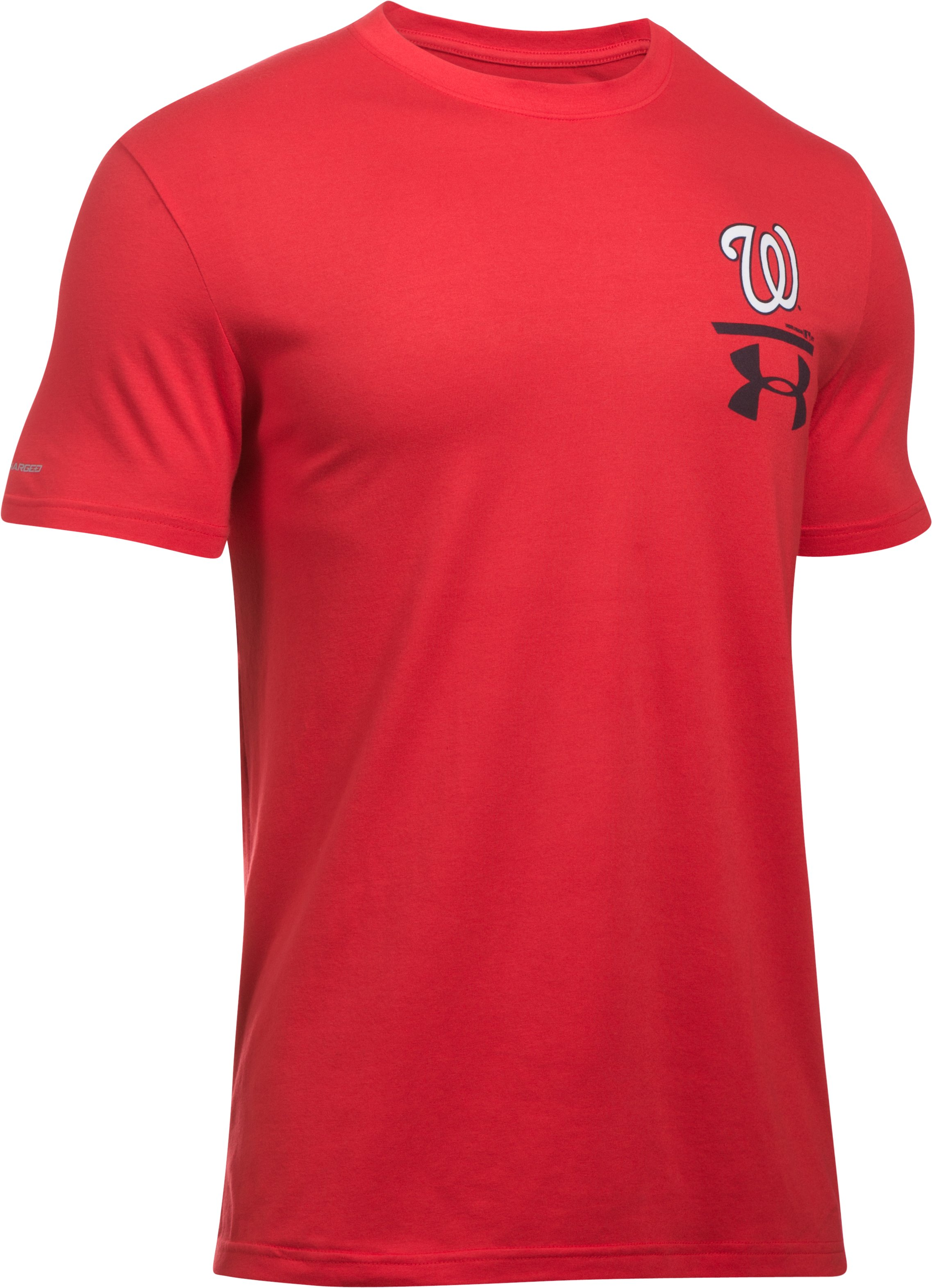 Men's Washington Nationals Logo T-Shirt, Red,