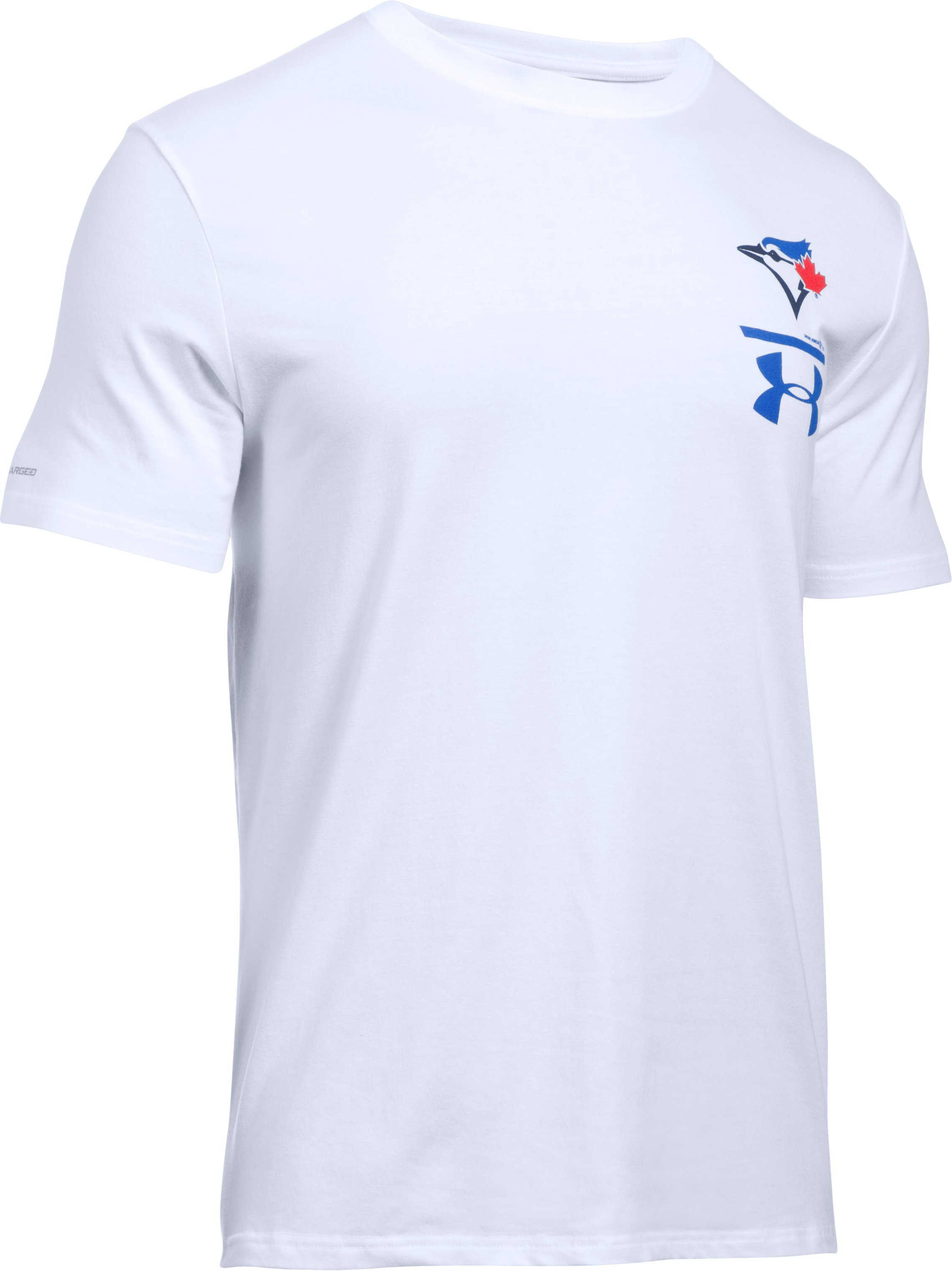 Men's Toronto Blue Jays Logo T-Shirt, White, undefined