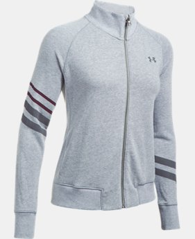 Women's UA French Terry Warm-Up Jacket  1 Color $59.99