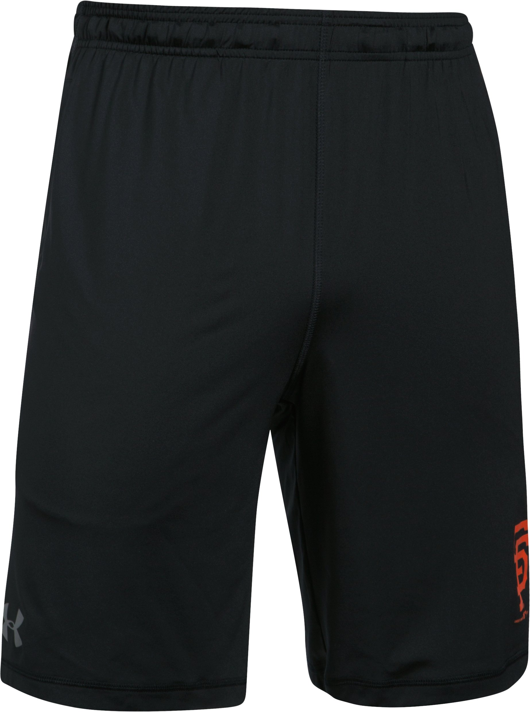Men's San Francisco Giants UA Raid Shorts, Black ,
