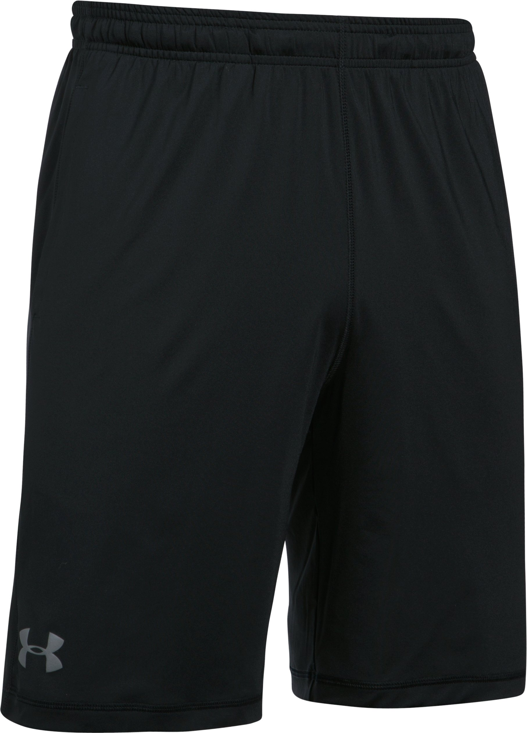 Men's Reds UA Raid Shorts, Black , undefined